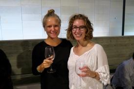 Mimi and I at the Jerusalem wine festival