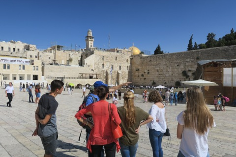 exploring Jerusalem with the Goors