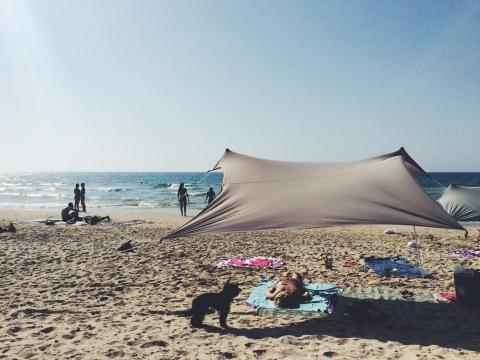Rosh Hashanah beach day in Herzylia