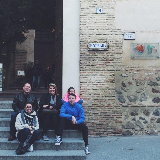 Toledo with Amir, Julia, Ya'el, Eitan, and Naomi