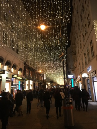 New Years decorations in Vienna