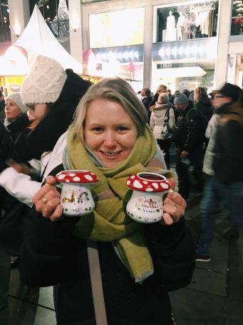 New Years cider in Vienna