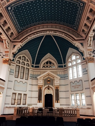 another synagogue in Budapest