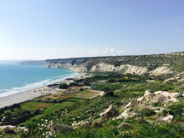 Cyprus's coastline