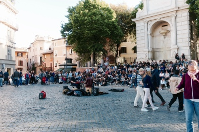 outdoor music in Rome