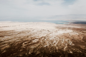 view from Masada east