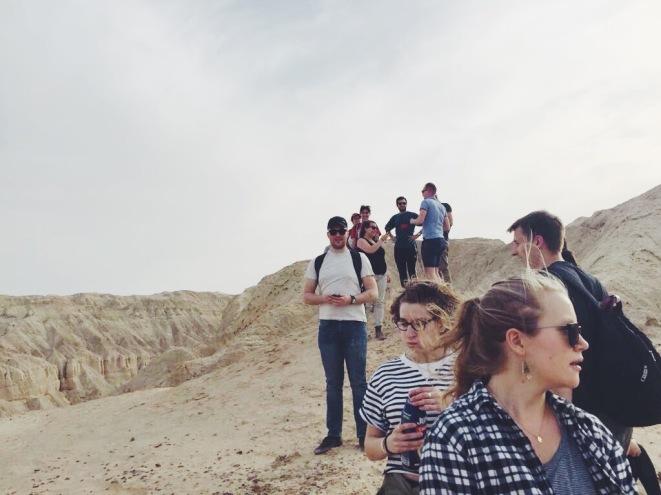 second semester OSP crew hits the deep desert