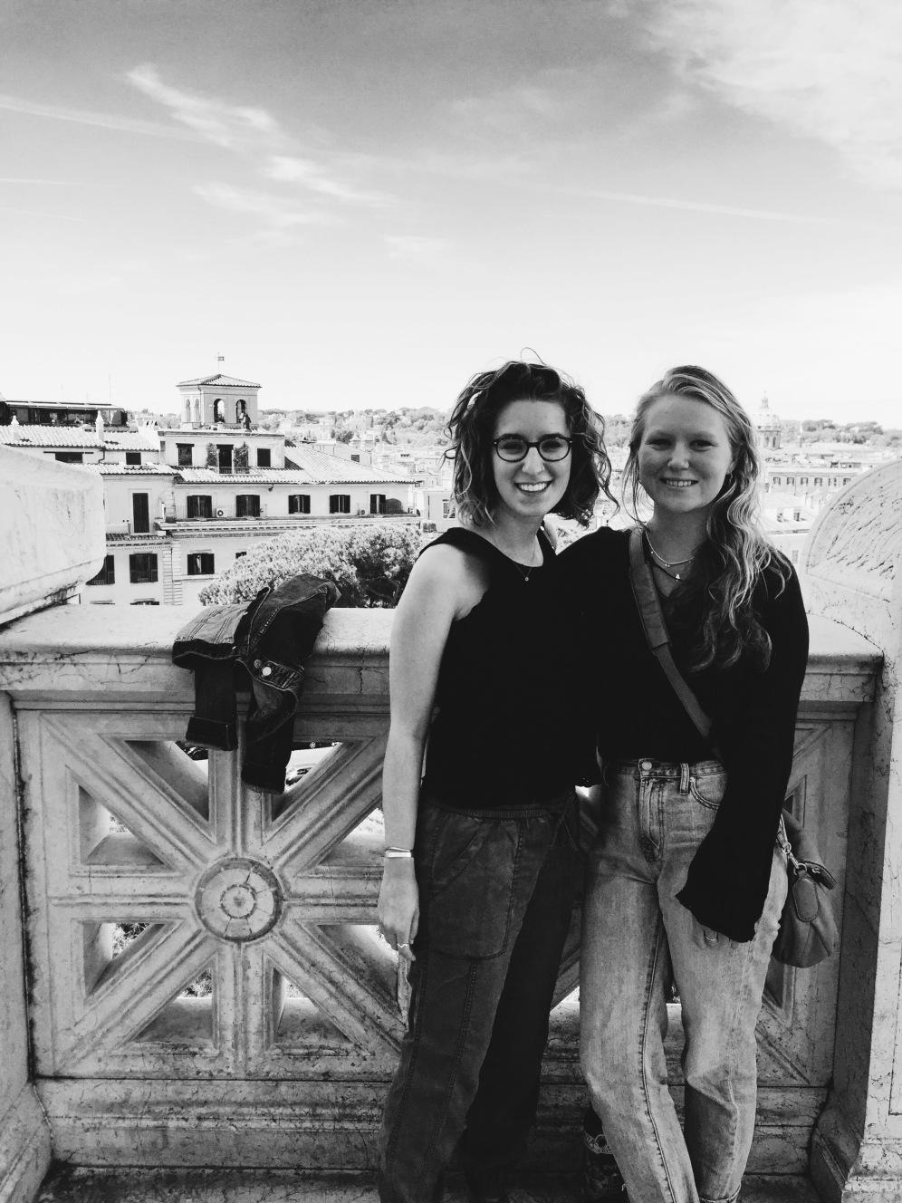 twins hit Rome!