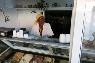vegan ice cream shop within the Black Hebrew community in Dimona