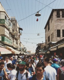Shabbat at the shuk!