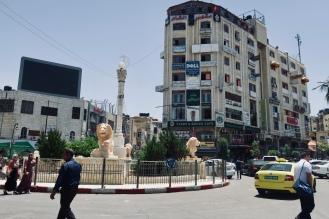 downtown Ramallah