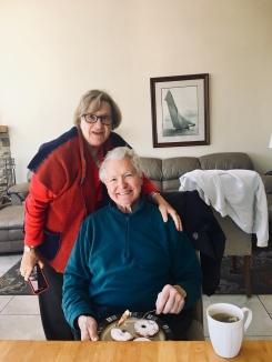 Grandma and Grandpa on Grandpa's 80th