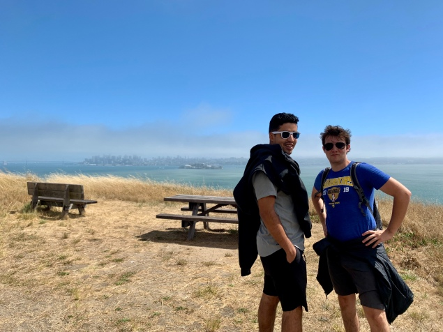 Abraham & Chase on Angel Island