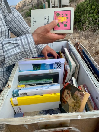 lending library for trail reads